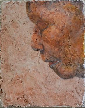 Being, 2018, fresco, 15x12 inches.jpg