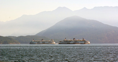 Ferry Crossing in Howe Sound