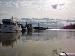 Boating Back Home