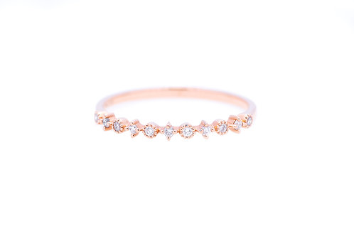 Starry Night Stackable Diamond Ring