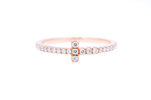 The Bella Pavé Diamond Ring