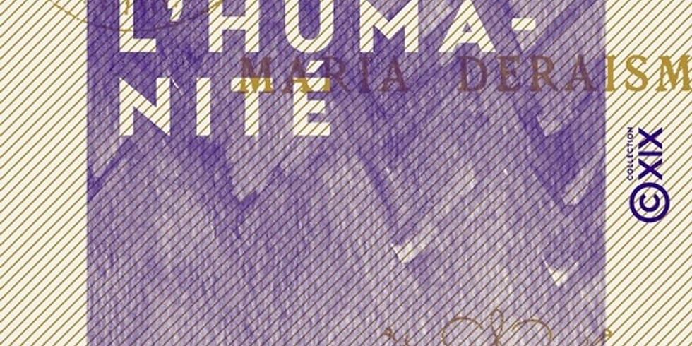 Êve dans l'humanité, La femme dans le théâtre, Maria Deraismes