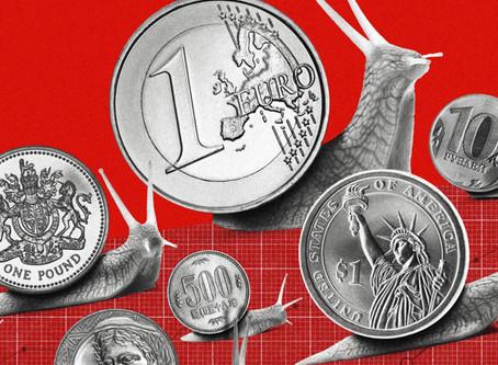 El FMI rebaja las perspectivas de crecimiento mundial por la guerra comercial.