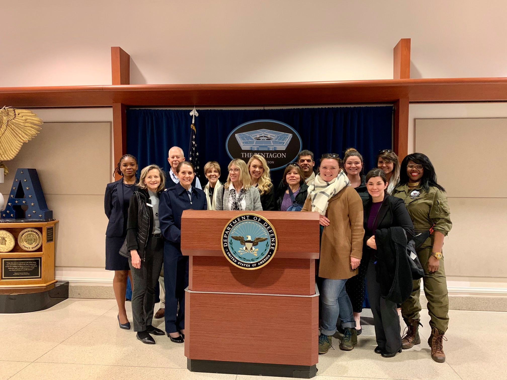 CRC Chapter at Pentagon