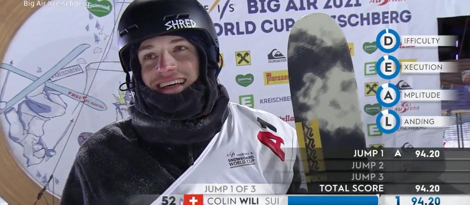Colin Wili wird 7. in Kreischberg