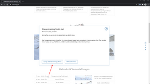 Hinweis zur Webseite: Details zu Terminen direkt anzeigen