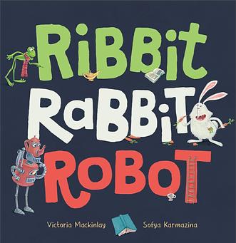 ribbit rabbit robot by victoria mackinla