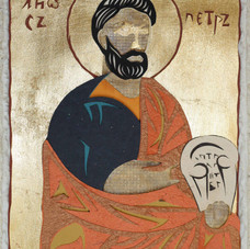 Peter, after Novgorod icon, 1390