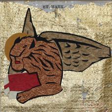 Four Gospel Writers:  Mark after mosaic, Sant Andrea Ravenna, 519