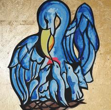 Mediaeval Bestiary:  Pelican
