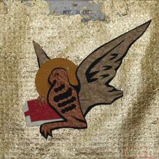 Four Gospel Writers:  John after mosaic, Sant Andrea Ravenna, 519
