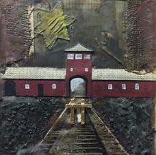 STATION VII:  Auschwitz, Oświęcim, Poland, 1941