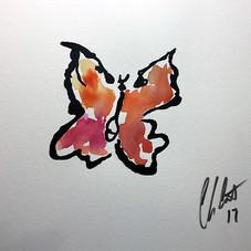 Butterfly, Orange