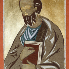 Apostle Paul, after Rublev icon, 1410
