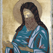 John the Baptist, after Tver icon, 1425