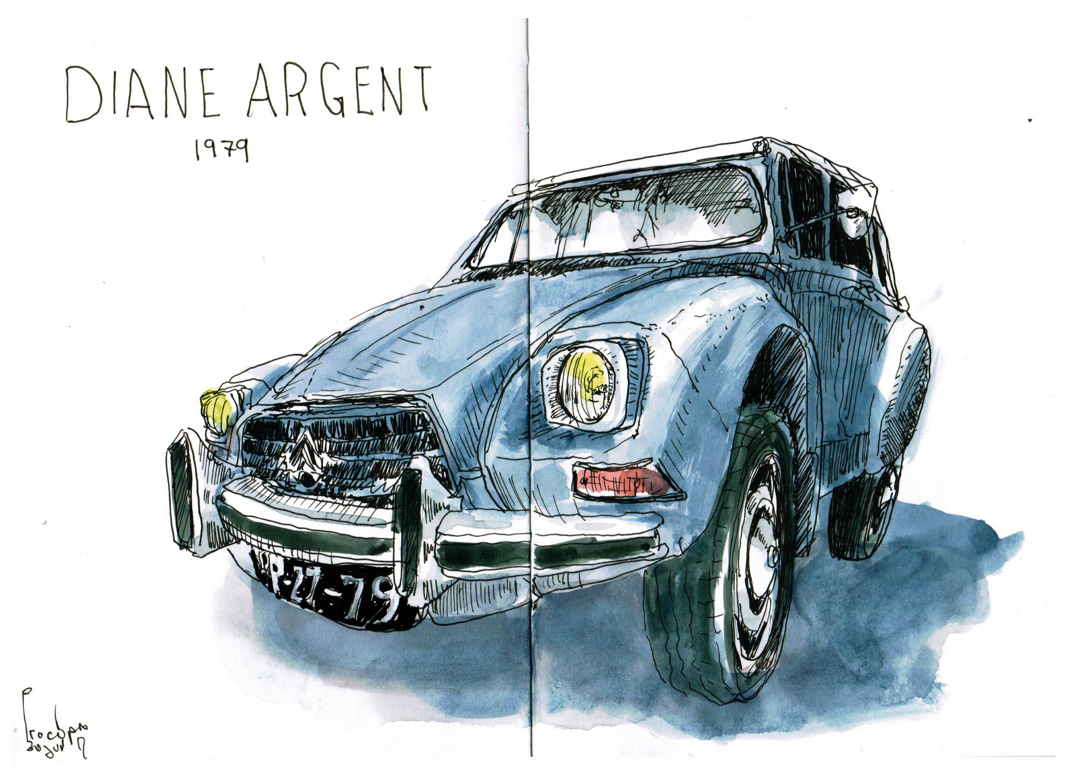 Citroen Diane Argent