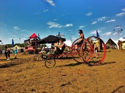 Trike - Circus Kinetica- Kinetic Kasbar - Secret Garden Party - 2012