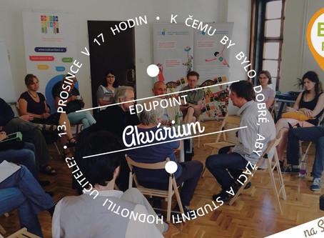 Zveme vás na Akvárium (Edupoint): Měli by studenti hodnotit své učitele?