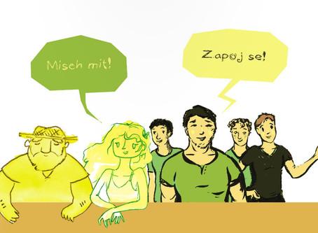 """Česko-německé fórum mládeže a komiks """"Misch mit! Zapoj se!"""""""