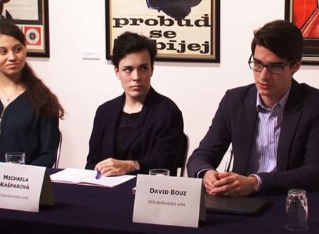 Kulatý stůl EDUin – Co si myslí středoškoláci (záznam debaty)