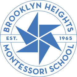brooklyn heights montessori school logo.