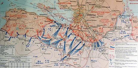 схема наступления войск противника наЛенинград всентябре 1941г., схема наступления фашистов наЛенинград, всентябре 1941г., карта наступления немцев наЛенинград