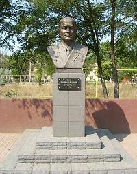 бюст Тимуру Апакидзе в Крыму, Саки-4, Тимур Апакидзе