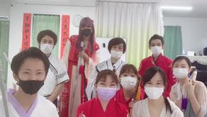 中華剣術教室の様子です