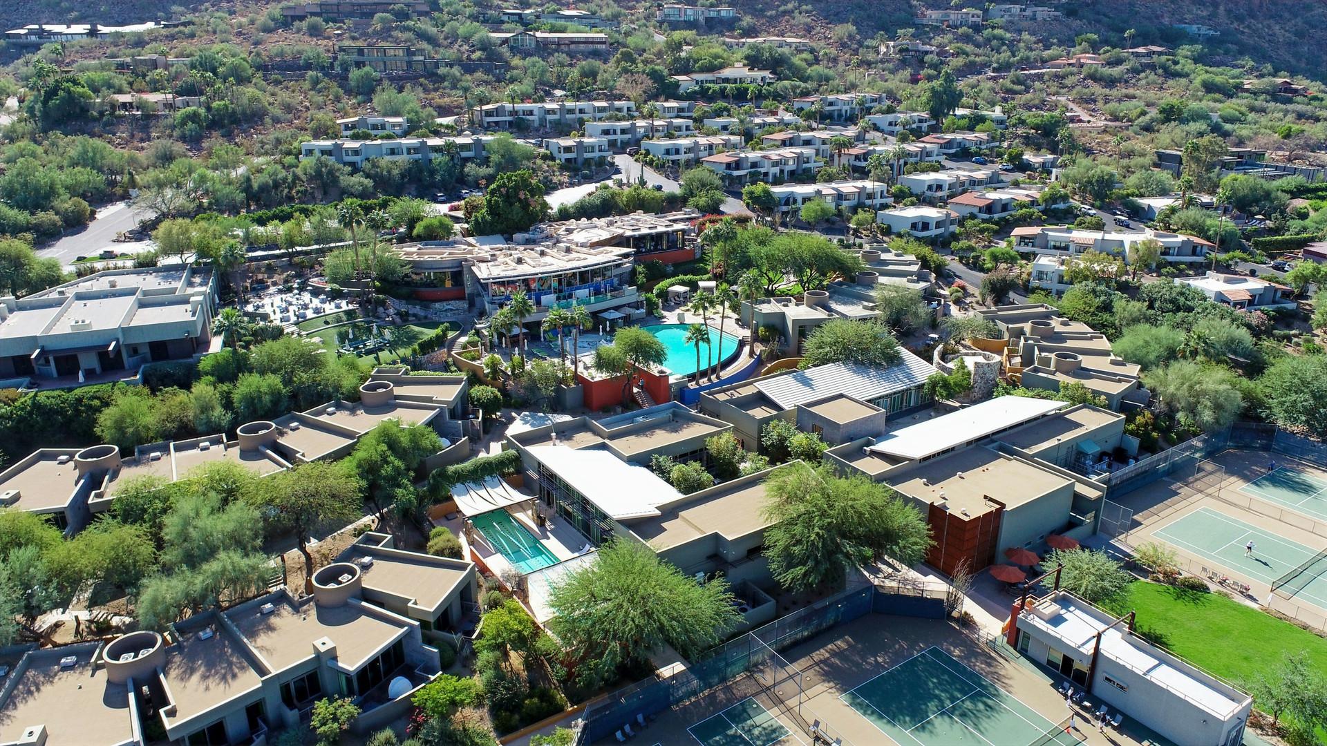 Sanctuary at Camelback Mountain Resort in Scottsdale, AZ