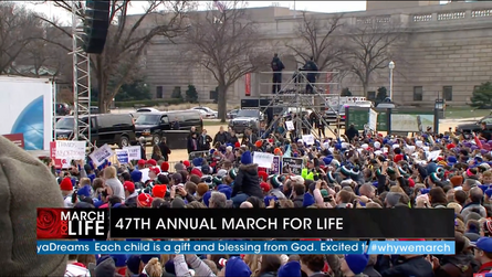 History was made at the March for Life!