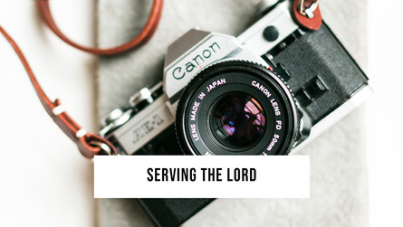 It is the Lord Christ you are serving!
