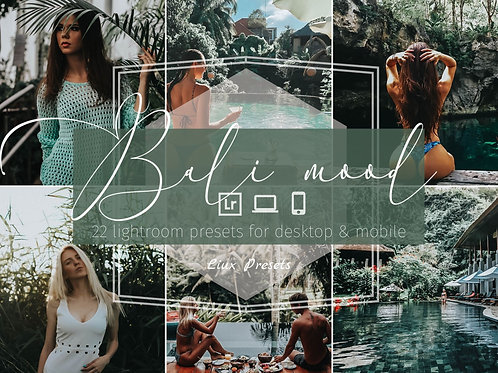 THE BALI MOOD COLLECTION