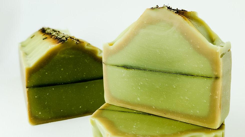 Green Tea & Lemongrass Natural Soap