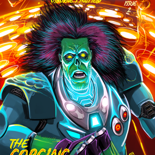 Frankenaut Issue 2 Cover
