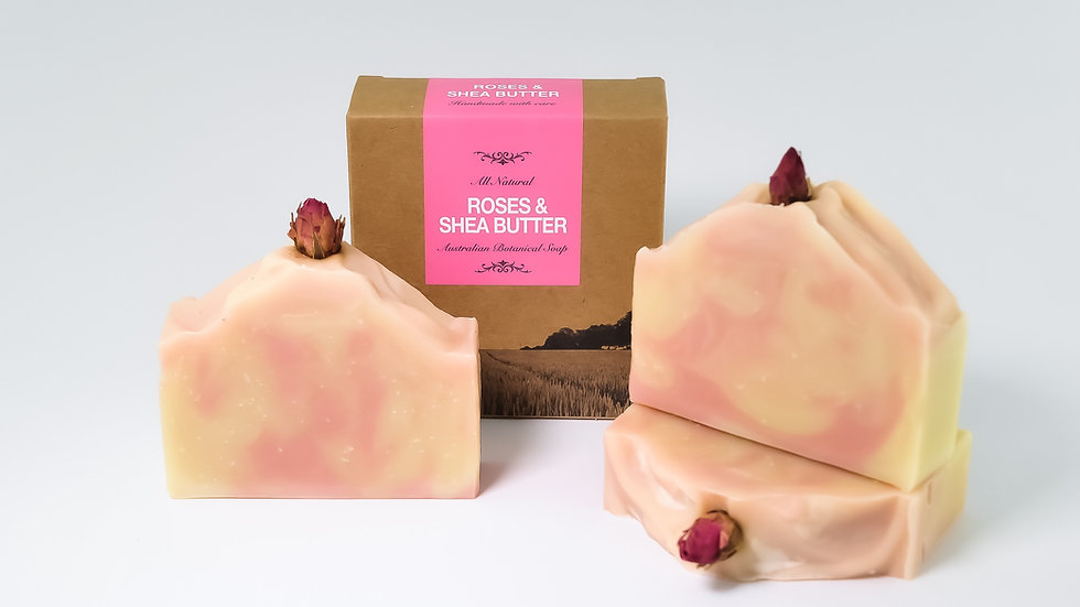 Rose & Shea Butter Natural Soap