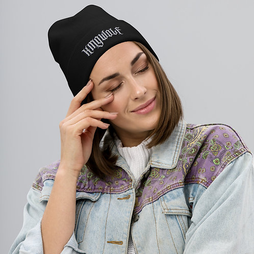 KingWolf Embroidered Beanie