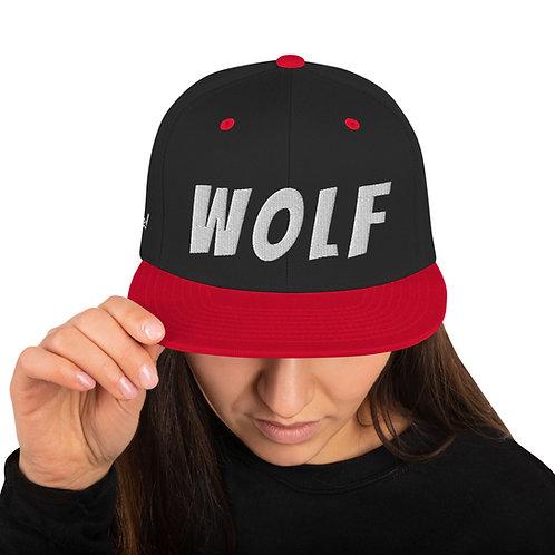 WOLF Snapback Hat