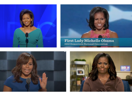 3 lessons from Michelle Obama's DNC Speeches from 2008 - 2020
