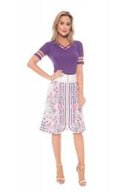 look fashion roxo