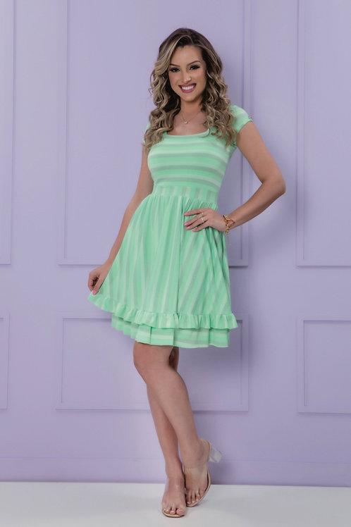 Vestido Malha Lurex