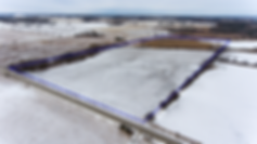 land for sale drone picture