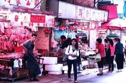 butcher in Hongkong