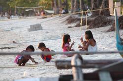 Malapascua kids having fun
