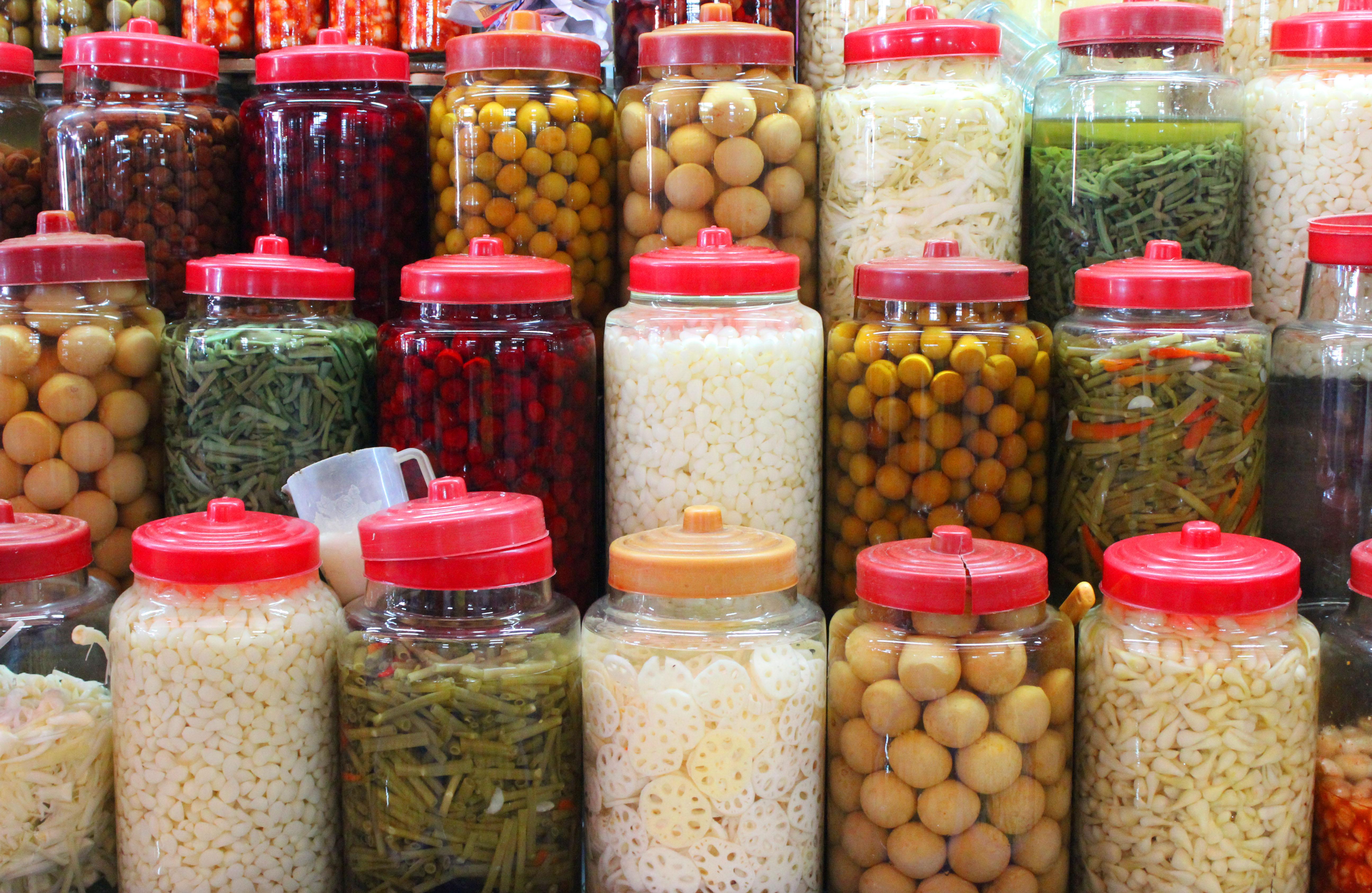 pickles vegetables