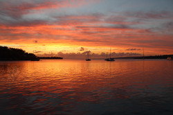 Sonnenuntergang Port Vila
