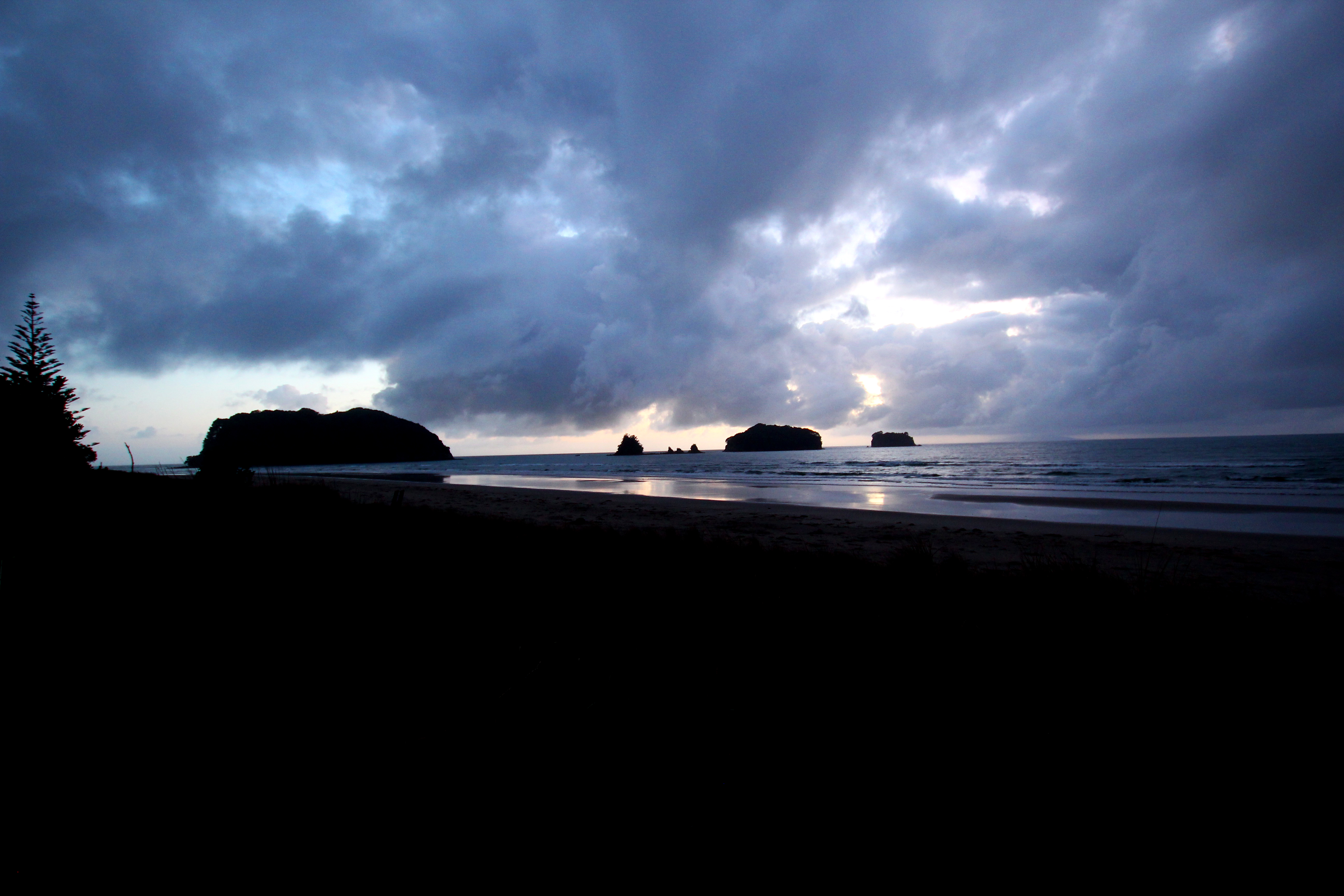 Sonnenuntergang Westcoast