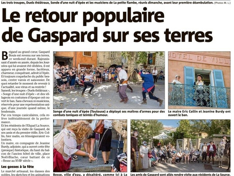 La journée de Gaspard