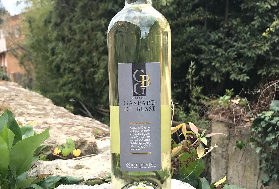 Côtes de Provence Blanc cuvée Gaspard 2020