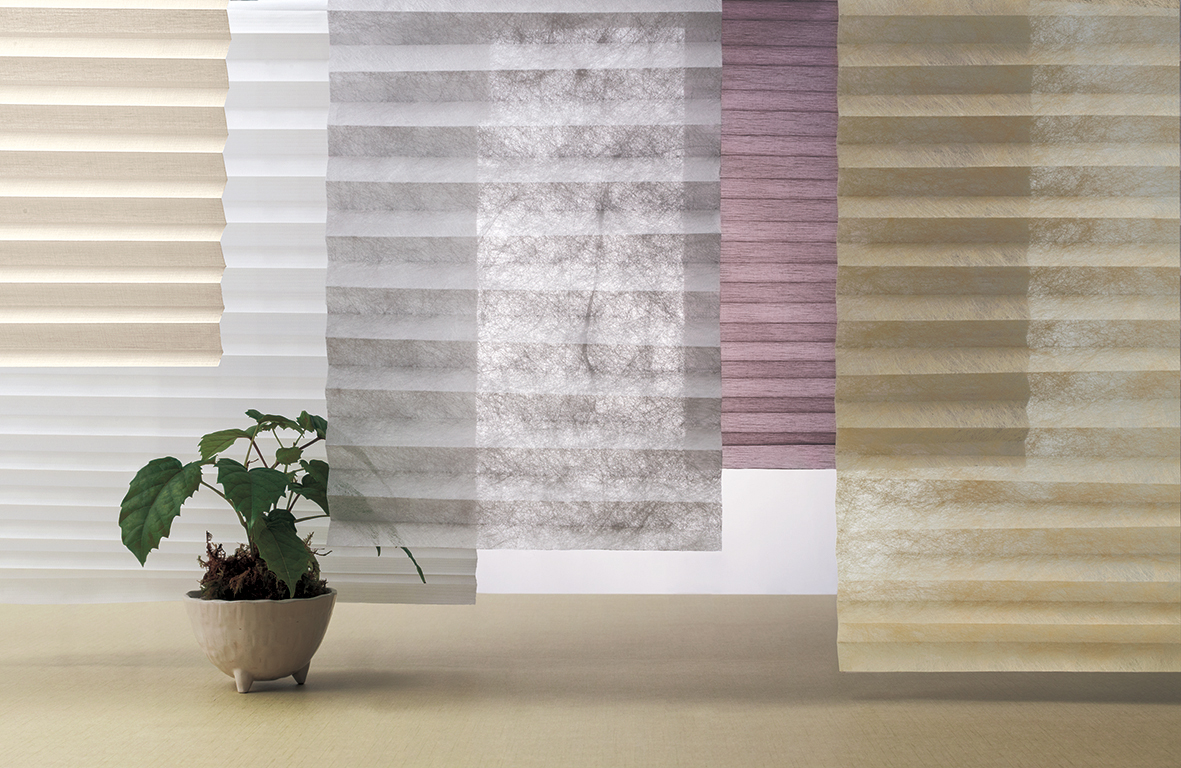 Pleat Screen - Sheer