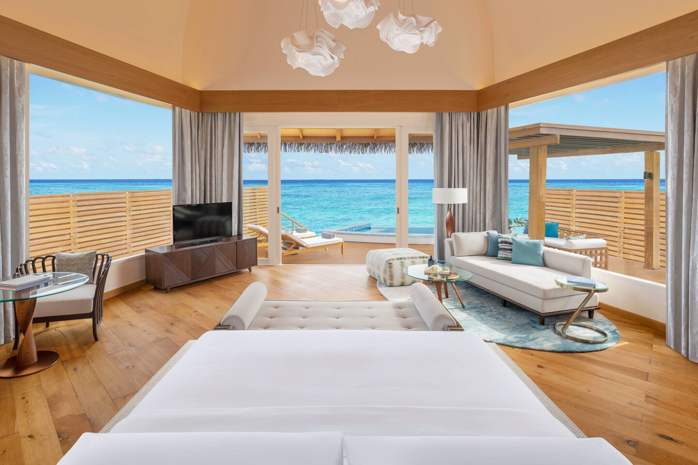 JW Marriott Maldives Bedroom